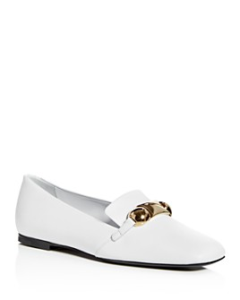 Burberry - Women's Amy Leather Smoking Slippers