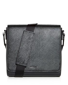 Michael Kors - Harrison Crossgrain Leather Messenger Bag