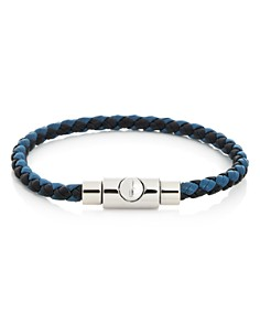 Salvatore Ferragamo - Woven Leather Bracelet