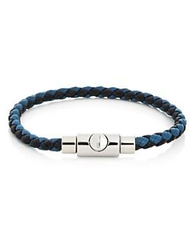 f85081570e1f Salvatore Ferragamo - Woven Leather Bracelet