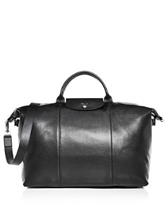 Longchamp - Le Foulonné Leather Duufel Bag