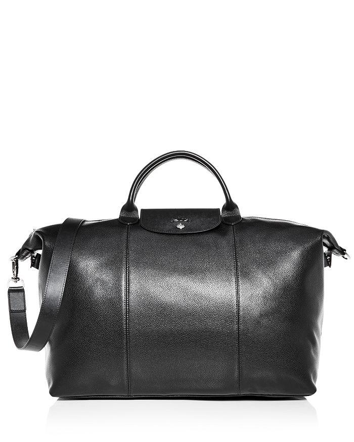 Longchamp - Le Foulonné Leather Duufel Bag