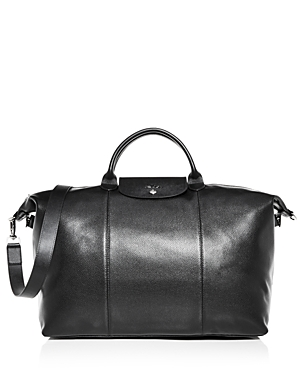 Longchamp Le Foulonne Leather Duffel Bag
