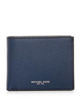 3bf9db5f8052 Michael Kors - Henry Slim Leather Bi-Fold Wallet ...