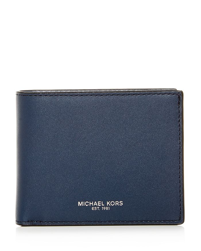 Michael Kors - Henry Slim Leather Bi-Fold Wallet