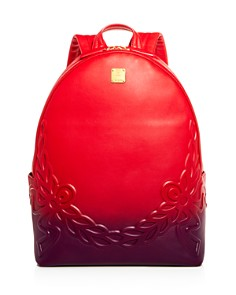 MCM - Degrade Laurel Ombré Leather Backpack