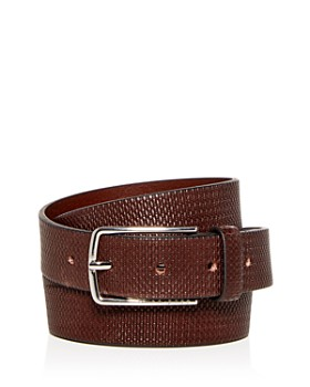 BOSS Hugo Boss - Chuck-P Embossed Leather Belt