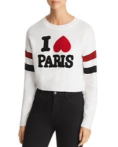 Marled - I Love Paris Crop Sweater
