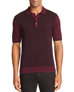 Fred Perry Textured Slim Fit Polo Shirt - Bloomingdale's_0
