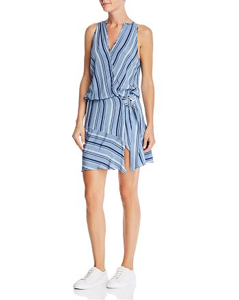 Ramy Brook - Kathryn Striped-Silk Dress