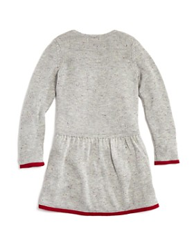 Design History - Girls' Ruffled Sweater Dress - Little Kid