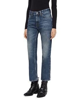 ALLSAINTS - Ava High-Rise Straight-Leg Jeans in Vintage Indigo ... 374b00f752