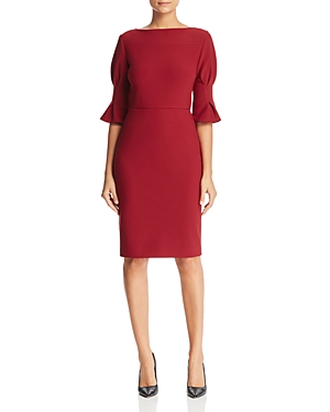 Badgley Mischka Bell Sleeve Dress