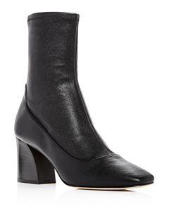 9ca4f9ac199d Jimmy Choo Women s Britney 115 Leather High-Heel Platform Booties ...