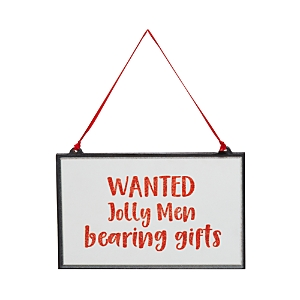 Bloomingdale's Christmas Wall Decor - 100% Exclusive