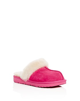 UGG® - Girls' Cozy II Suede & Shearling Slippers - Little Kid, Big Kid