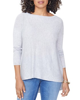 NYDJ - Drop Shoulder Split Back Sweater