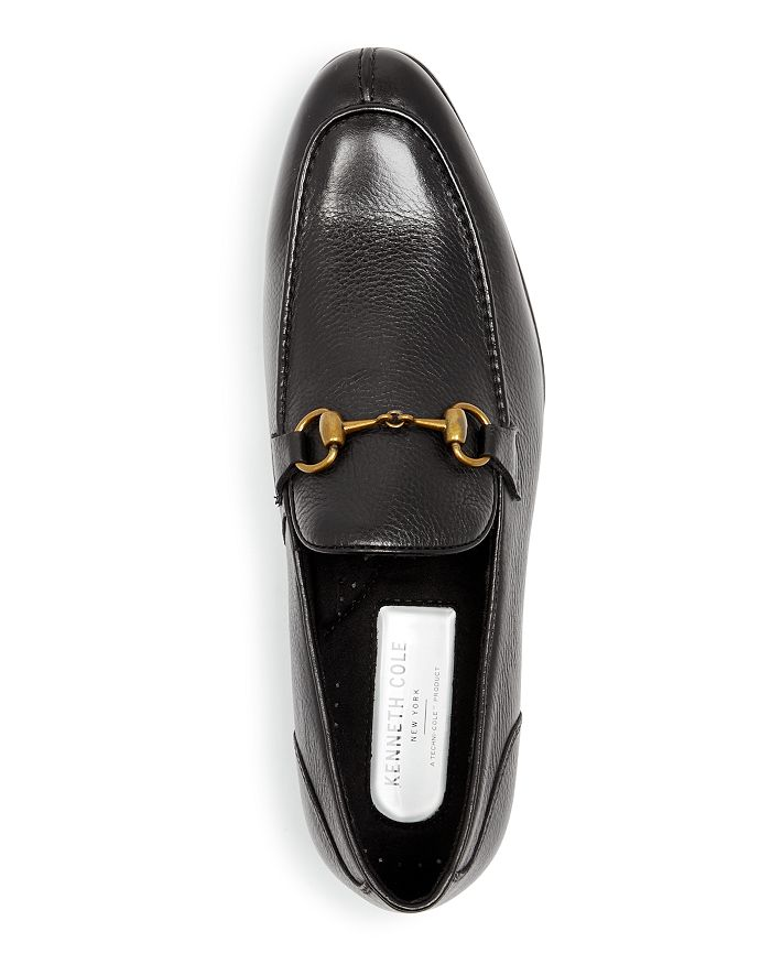 7aa2ff6140c4 Kenneth Cole - Men s Mix Leather Apron Toe Loafers