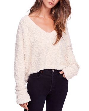 Free People Popcorn Knit Sweater