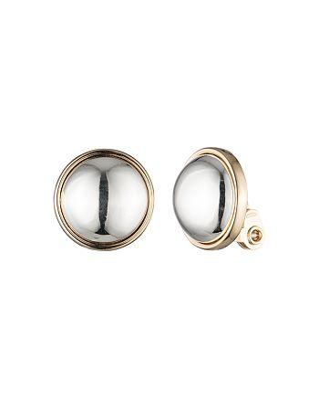 Ralph Lauren - Button Clip-On Earrings