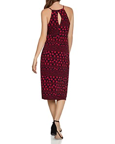 BCBGeneration - Twist-Front Floral Print Dress