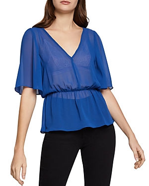 BCBGeneration Twist-Back Top