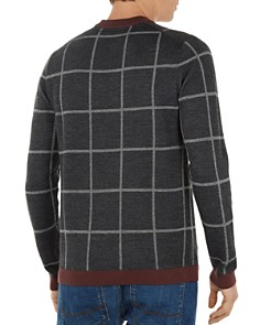 Ted Baker - Legit Checked Crewneck Sweater