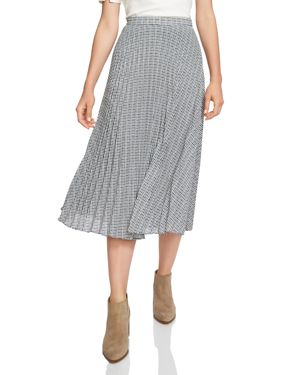 1.state Pleated Midi Skirt