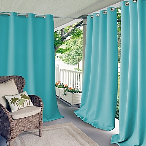 Elrene Home Fashions Connor Solid Indoor/Outdoor Curtain Panel, 52 x 108