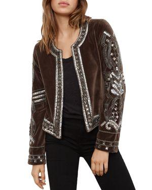 Velvet by Graham & Spencer Peggie Embellished Jacket