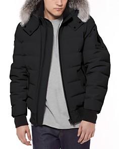 Moose Knuckles - Glace Bay Fur-Trimmed Down Bomber Jacket