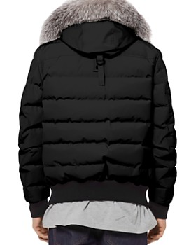 Moose Knuckles - Glace Bay Fur-Trimmed Down Bomber Jacket