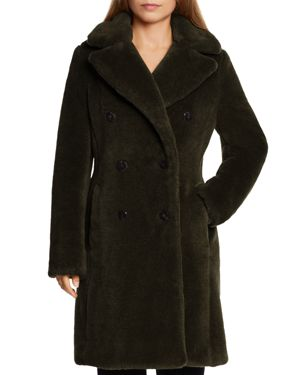 DAWN LEVY Kiel Coat in Kale Green