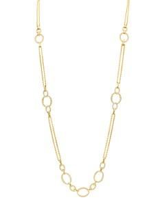 "Gumuchian - 18K Yellow Gold Carousel Diamond Convertible Chain Necklace, 34"""