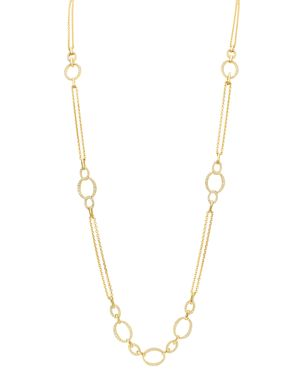 GUMUCHIAN 18K Yellow Gold Carousel Diamond Convertible Chain Necklace, 34 in White/Gold