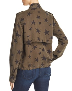 Rails - Collins Star Print Military Jacket