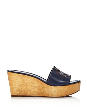 Tory Burch - Women's Ines Wedge Platform Slide Sandals