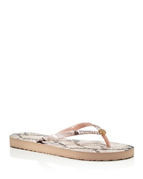 48e7645b093bf Tory Burch - Women s Printed Thin Flip-Flops ...