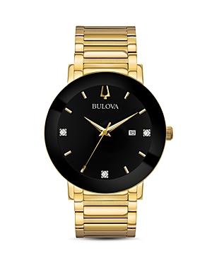 Bulova Modern Diamond-Index Watch, 42mm