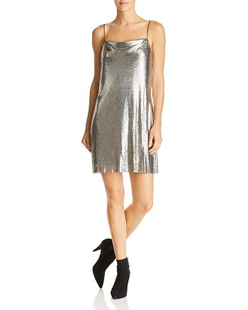 cebfb2ee00b Alice and Olivia Alice + Olivia Harmony Chain Mail Slip Dress ...