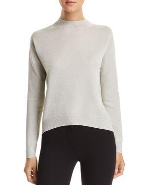 Boss Funday Mock-Neck Glitter Sweater
