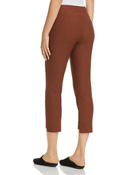 Eileen Fisher - Cropped Step-Hem Pants - 100% Exclusive