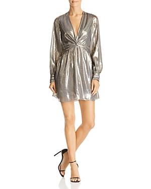 Ramy Brook Elise Metallic Mini Dress