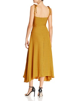 Bec & Bridge - Sun Valley Knot-Front Midi Dress