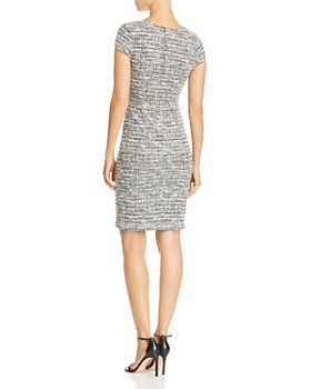 AQUA - Tweed Sheath Dress - 100% Exclusive