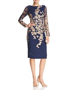 Avery G - Embroidered Lace Dress