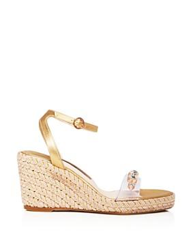 Sophia Webster - Women's Dina Open Toe Jeweled Wedge Espadrille Sandals