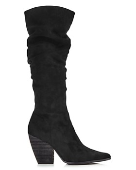 Charles David - Women's Naughty Pointed Toe Suede High-Heel Boots