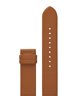 Tory Burch - The Gigi Brown Leather Smartwatch Strap, 20mm