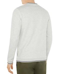 Ted Baker - Magiics Striped-Border Sweatshirt